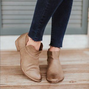 Seychelles Snare leather ankle booties size 7